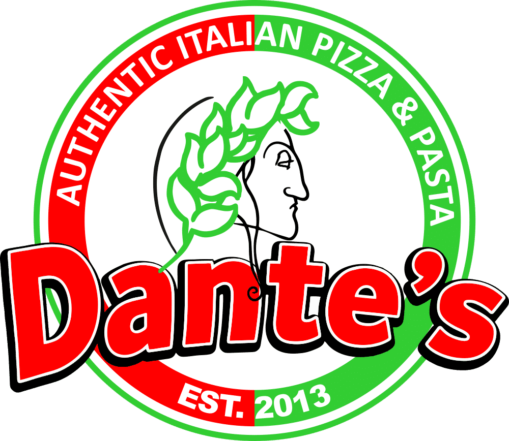 Dante's Pizza Logo